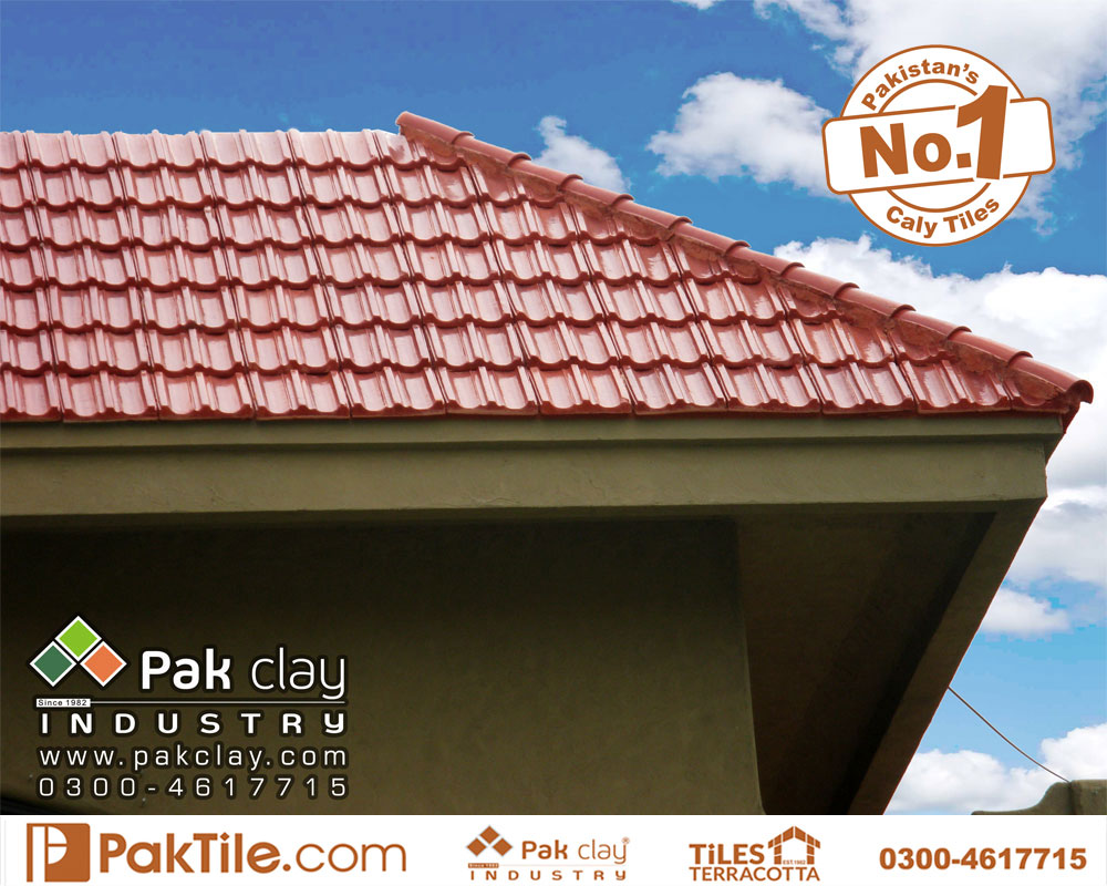 1 Terracotta Tiles Pakistan Buy Online Glazed Roof Khaprail Tiles in Islamabad Images