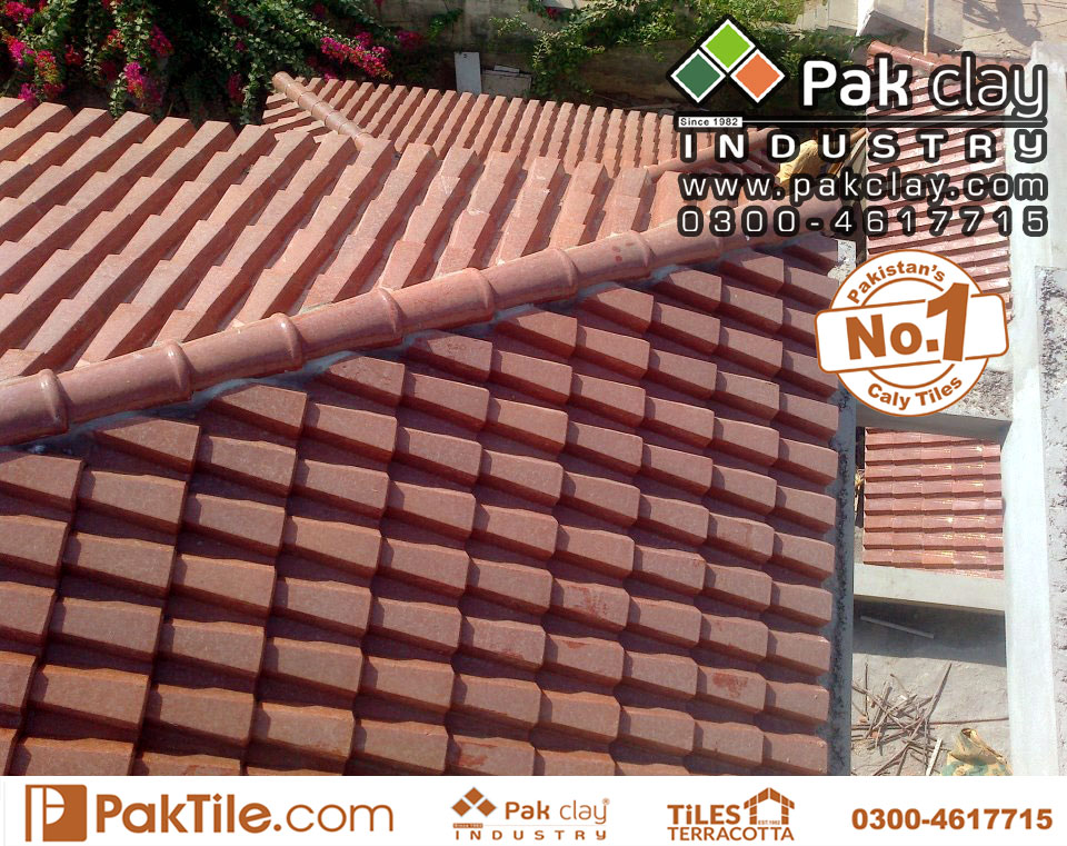 10 Pak Clay Industry Terracotta House Roof Shingles Khaprail Tiles Design in Pakistan Images