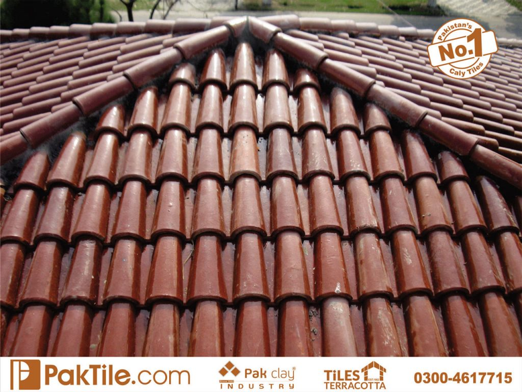 10 Terracotta Tiles Pakistan Slope Shed Canopy Khaprail Tiles Patterns in Rawalpindi Images
