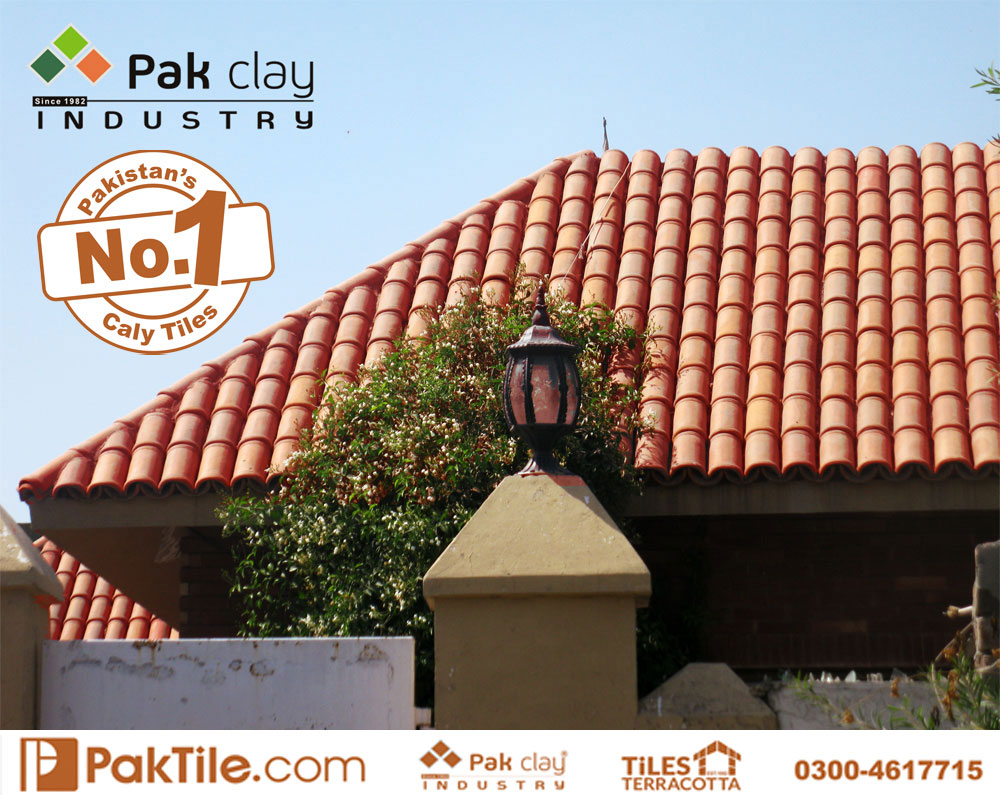 4 Terracotta Tiles Pakistan Glazed Roofing Materials Khaprail Tiles Rates Images