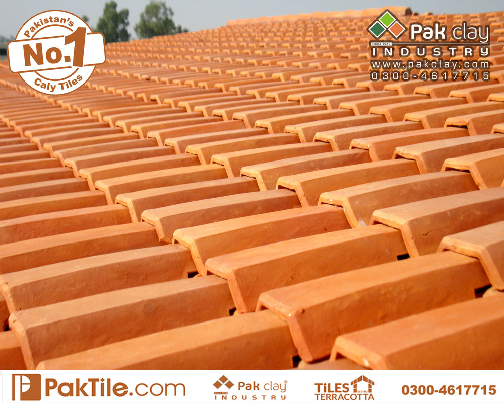 5 Pak Clay Terracotta Roof Tiles for Sale Terracotta Roof Khaprail Tiles Price in Karachi