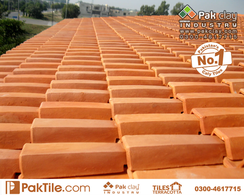 6 Pak Clay Terracotta Roof Tiles Colours Terracotta Khaprail roof tiles in Lahore Images