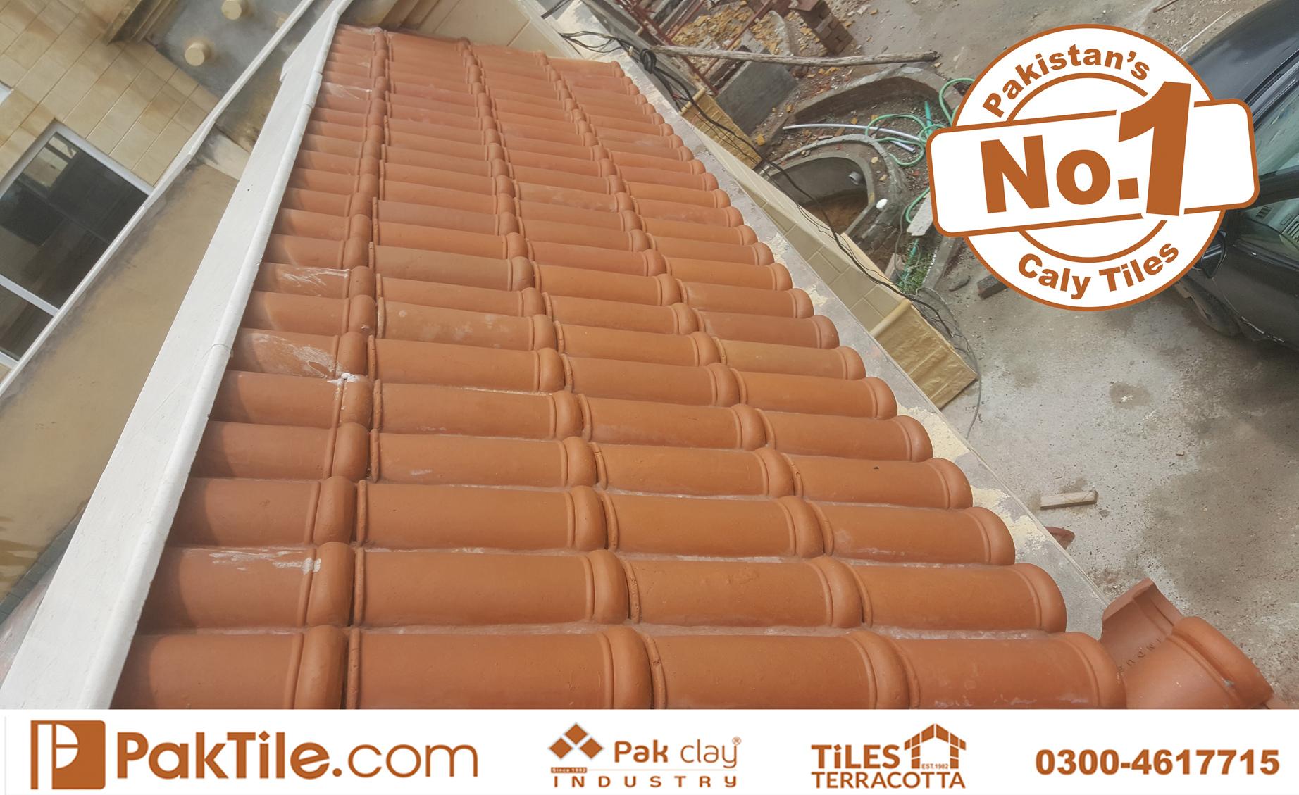 1 Terracotta Pak Clay Tiles Ceramic Roof Tiles Advantages Khaprail Tiles in Lahore Images