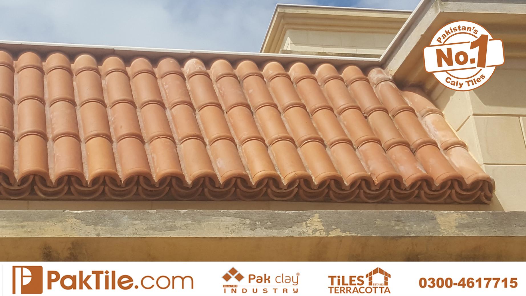 1 Terracotta Red Mud Brick Roof Tiles Pakistan Khaprail Tiles Manufacturer Shop in Lahore Karachi Images