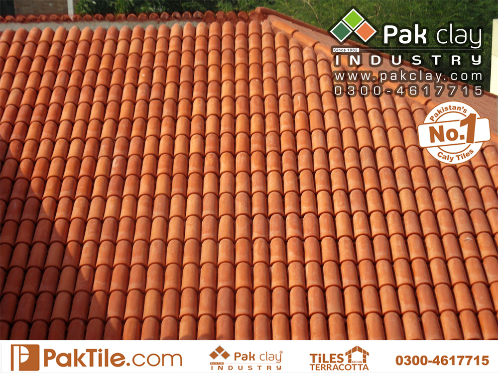 10 Pak clay khaprail tiles ceramic roof terrace tiles tiles price list in lahore karachi islamabad images