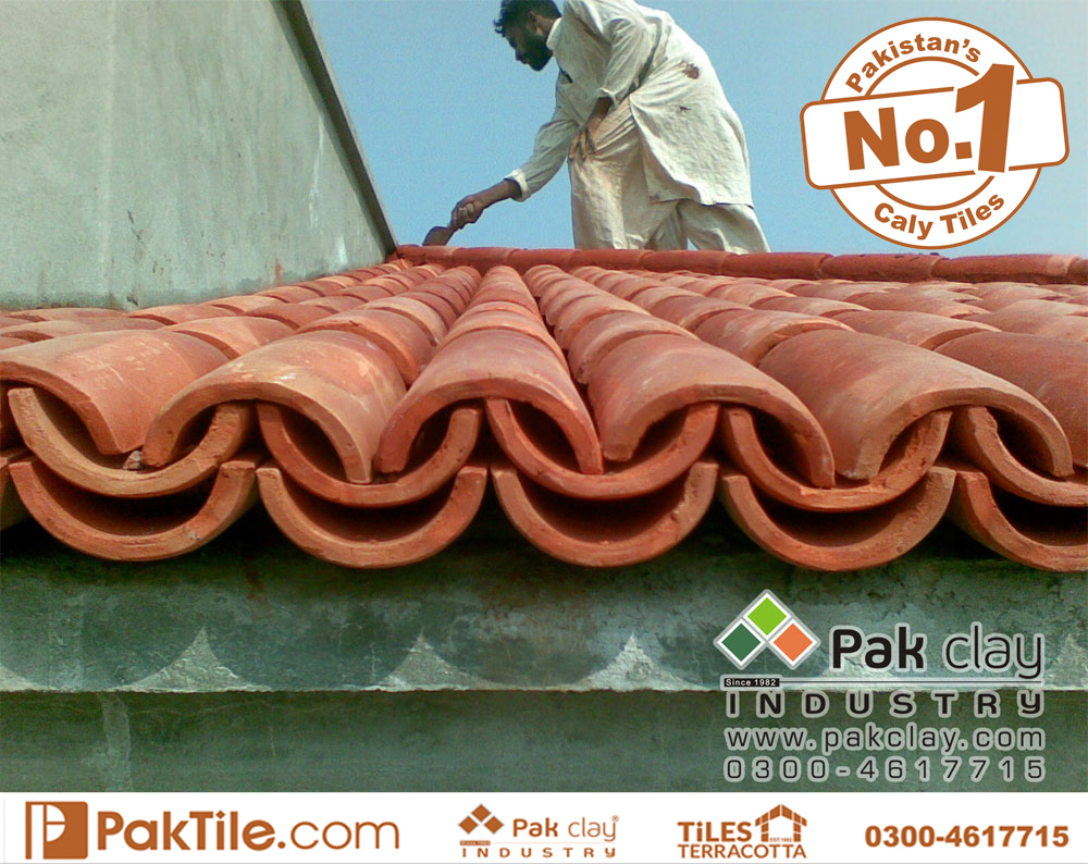 12 Pak clay industry heat resistant roofing tiles for terrace khaprail tiles rates in pakistan images