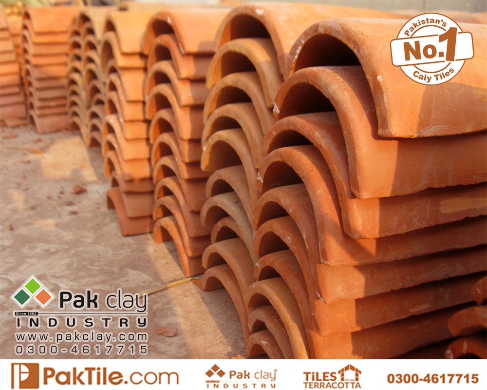 2 Pak clay tile distributors roof tiles terracotta mud clay khaprail tiles rates in pakistan images