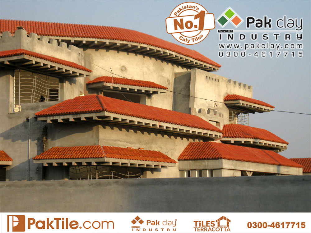 25 Pak clay roof tiles installation roof balcony terrace tiles ceramic roof tiles in pakistan images