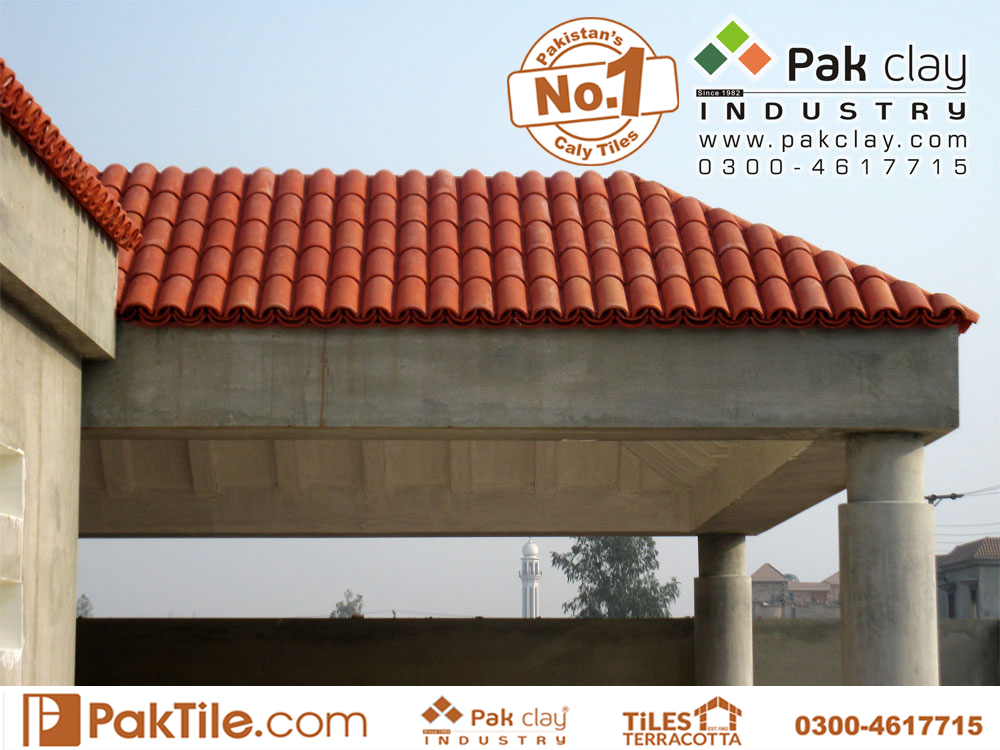7 Pak clay mud traditional terracotta roof tiles khaprail tiles texture catalogue price in lahore