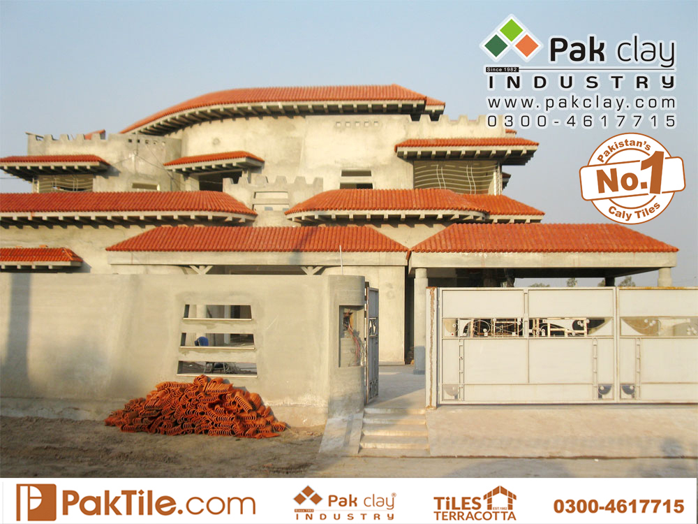 Pak clay barrel roofing tiles glazed colors khaprail house design terracotta tiles price in pakistan images