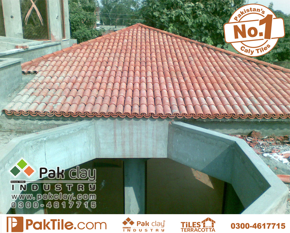 Pak clay ceramic roofing tiles khaprail tiles ceramic roof tiles colors terracotta tile design size