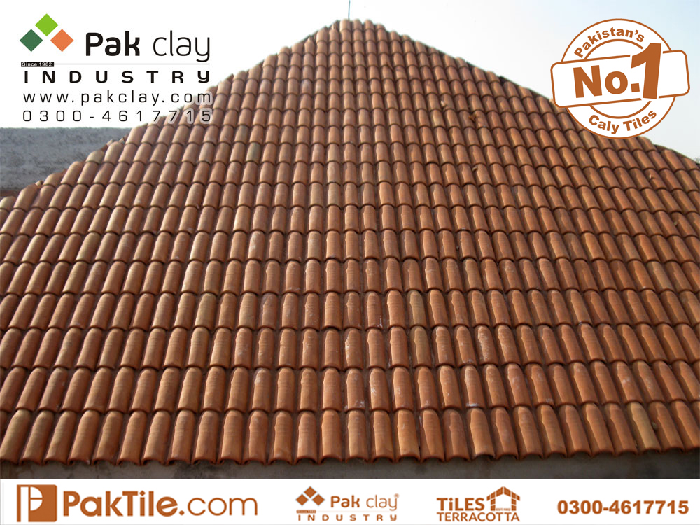 Pak clay industry khaprail house front elevation roof tiles design types of terracotta tiles in pakistan
