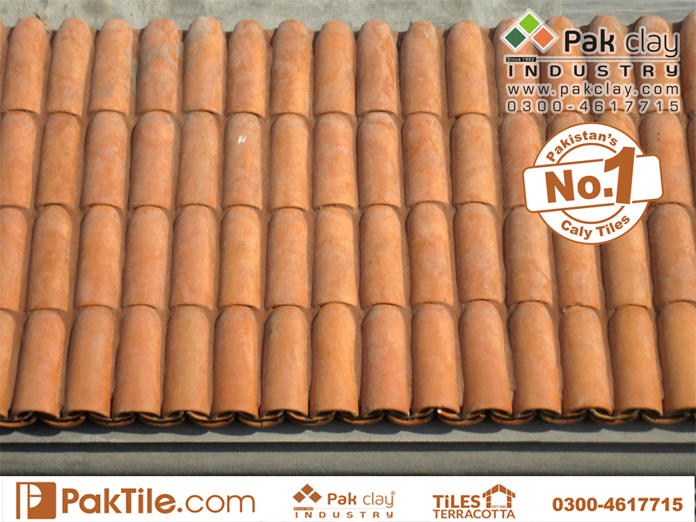 Terracotta roof khaprail border tiles A tile is a thin object usually square or rectangular in shape