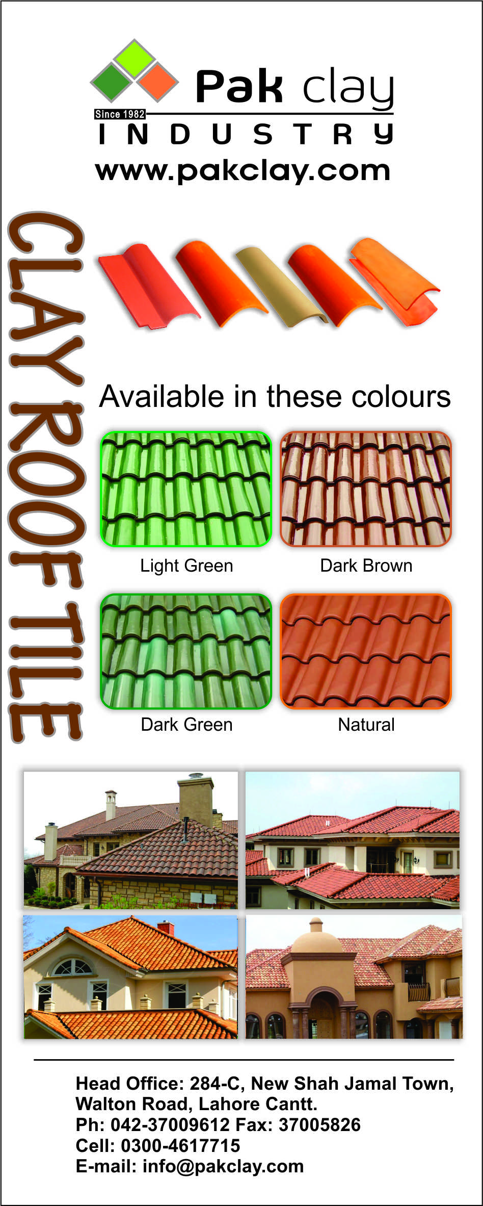 1 Pak clay a 1 quality khaprail tiles in pakistan ceramic roof tiles terracotta roof tiles types and prices images