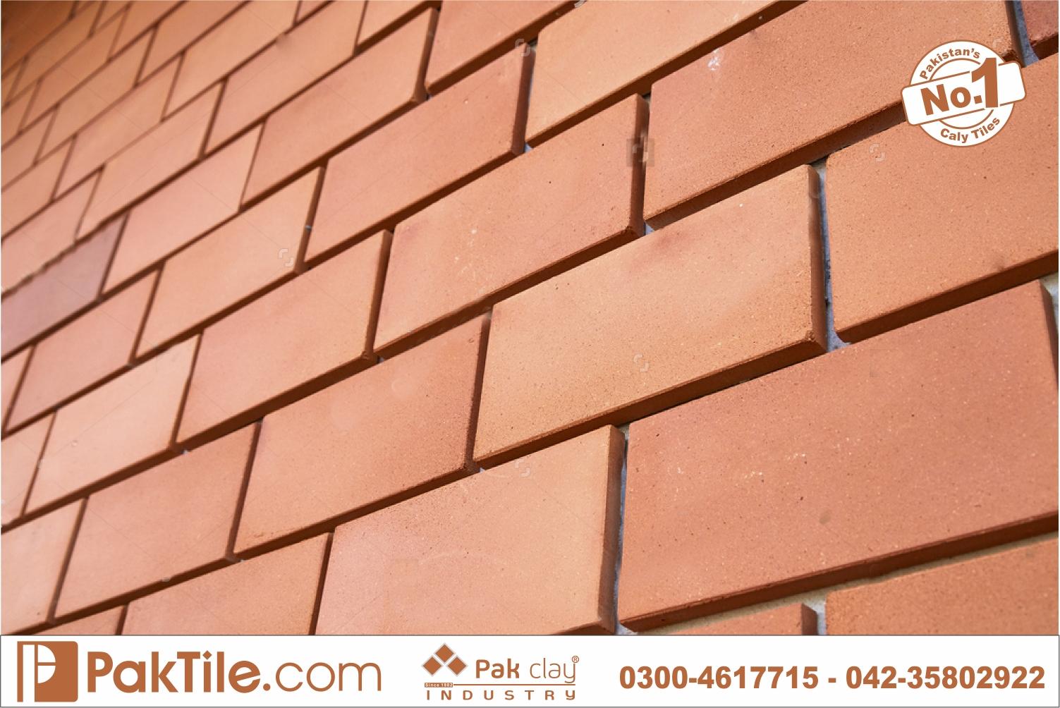14 Pak Clay brick tiles kitchen brick tiles lahore brick tiles for interior walls images