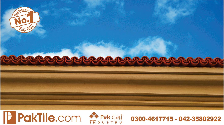 8 Pak clay terracotta tiles khaprail tiles manufacturer roof tiles roofing tiles textures photos