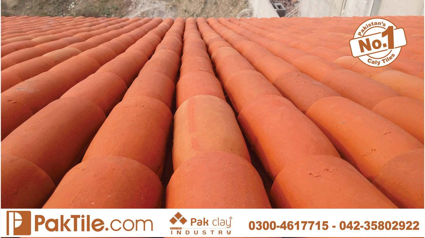 9 Pak clay terracotta roof tiles khaprail house design traditional tiles industry in pakistan images