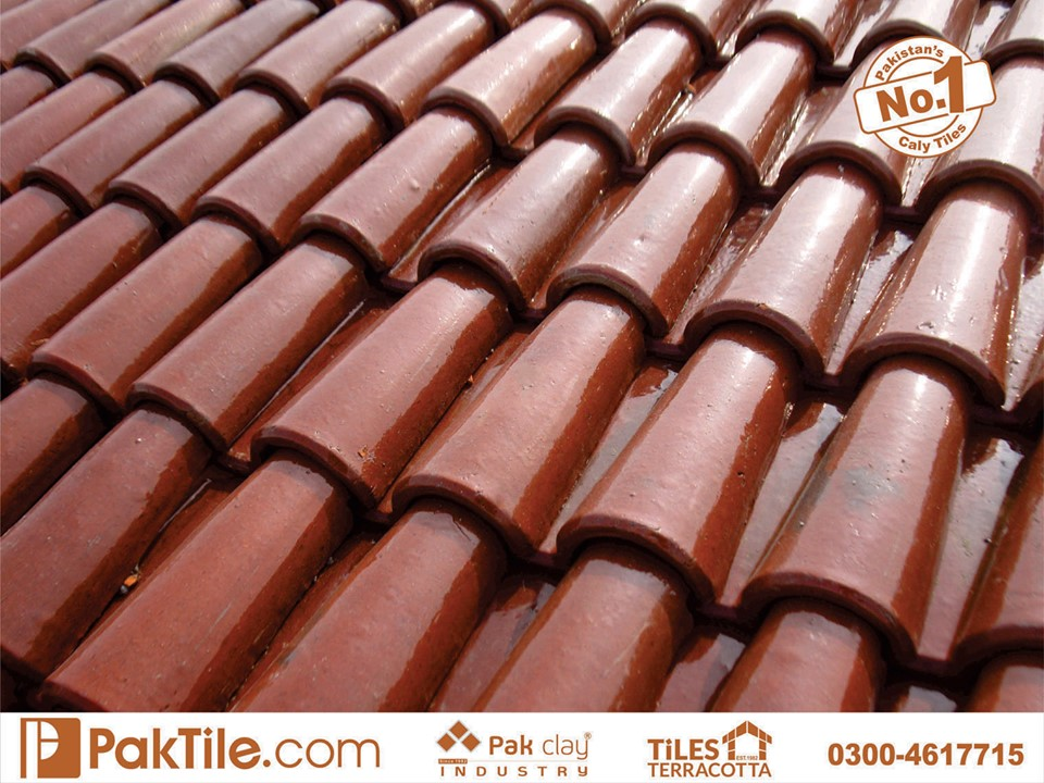 2 Pak Clay Industry khaprail tiles price in pakistan ceramic glazed roof tiles in karachi images.