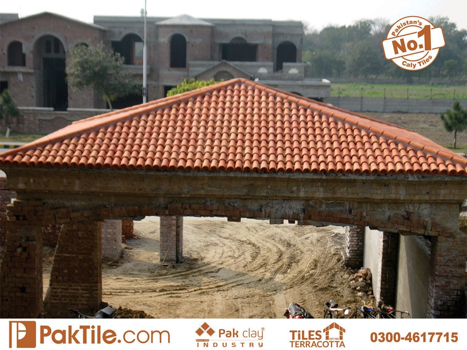 3 Pak Clay Industry Khaprail tiles price in pakistan terracotta roof tiles in islamabad images.