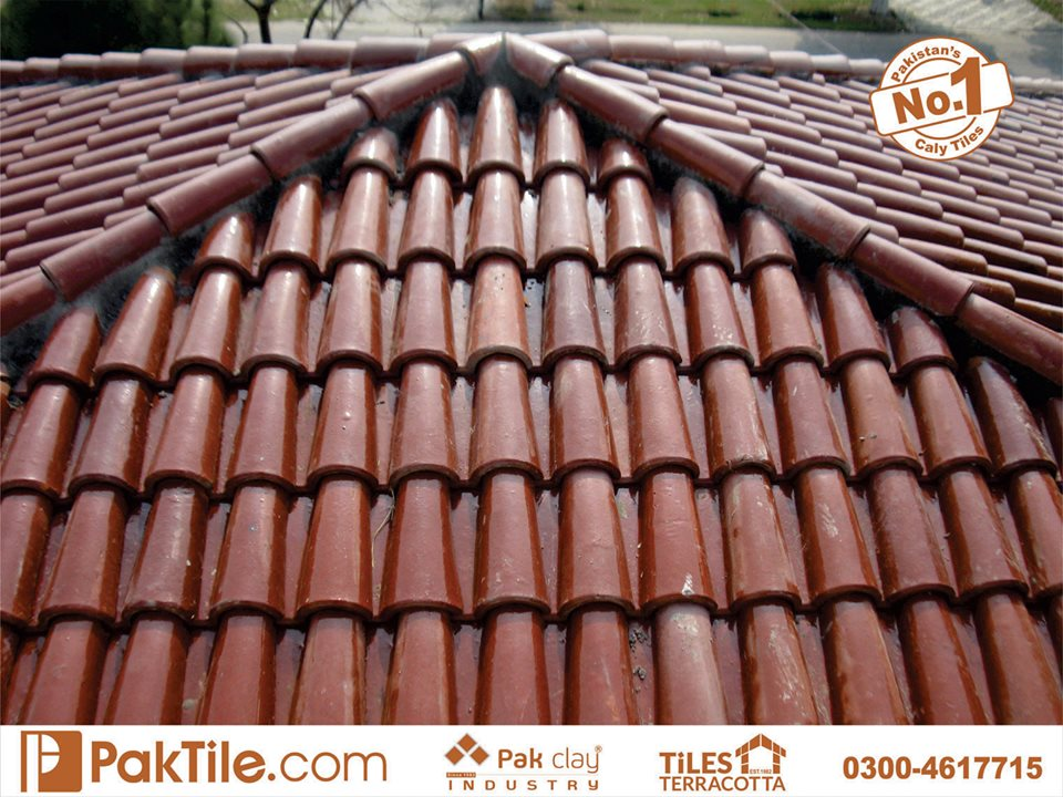 4 Pak Clay Industry Khaprail tiles price best quality glazed roof tiles prices in pakistan images.