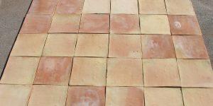 2 Natural Red Bricks Terracotta Porch Floor Tiles Design in Pakistan.