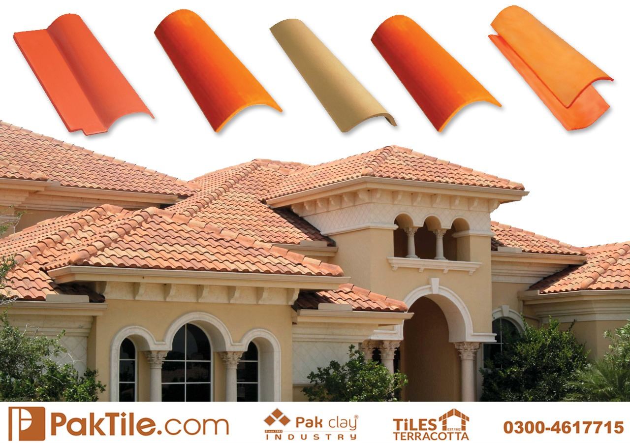 Natural Clay Khaprail Tiles Roof Tiles to Reduce Heat Images