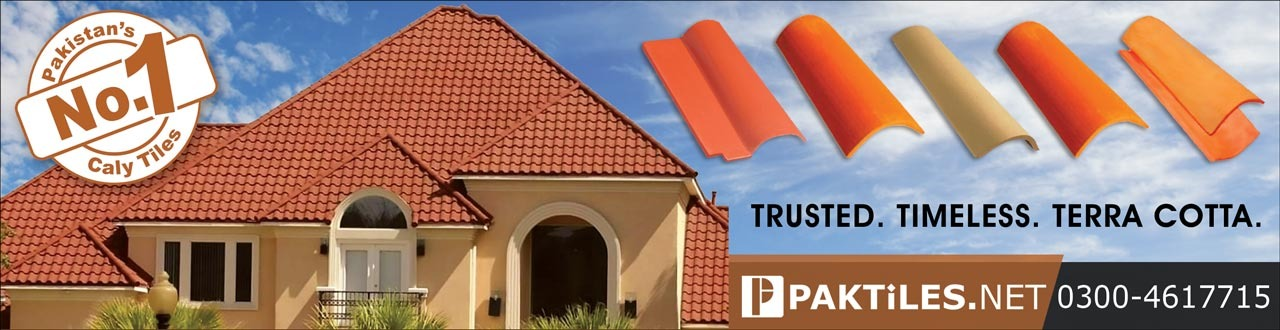 Natural Clay Khaprail Tiles Roofing Services Islamabad Pakistan