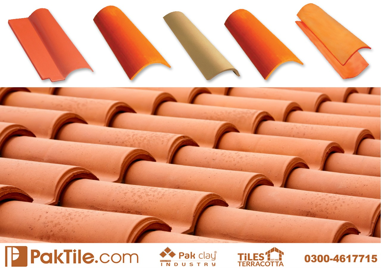 Pak Clay Natural Khaprail Tile Roofing Services Islamabad Image