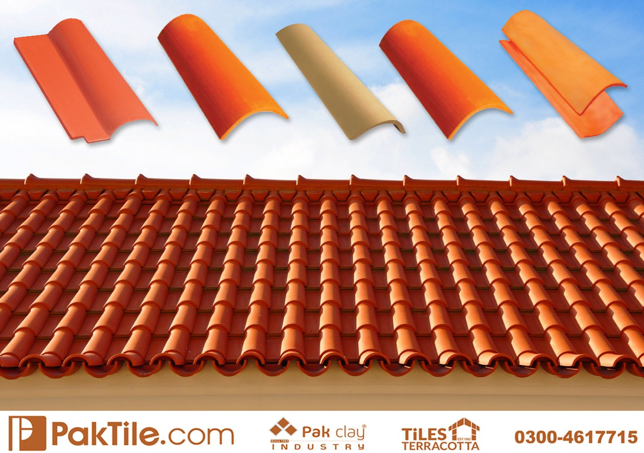 Pak Clay Natural Khaprail Tile Roofing Services Islamabad Images