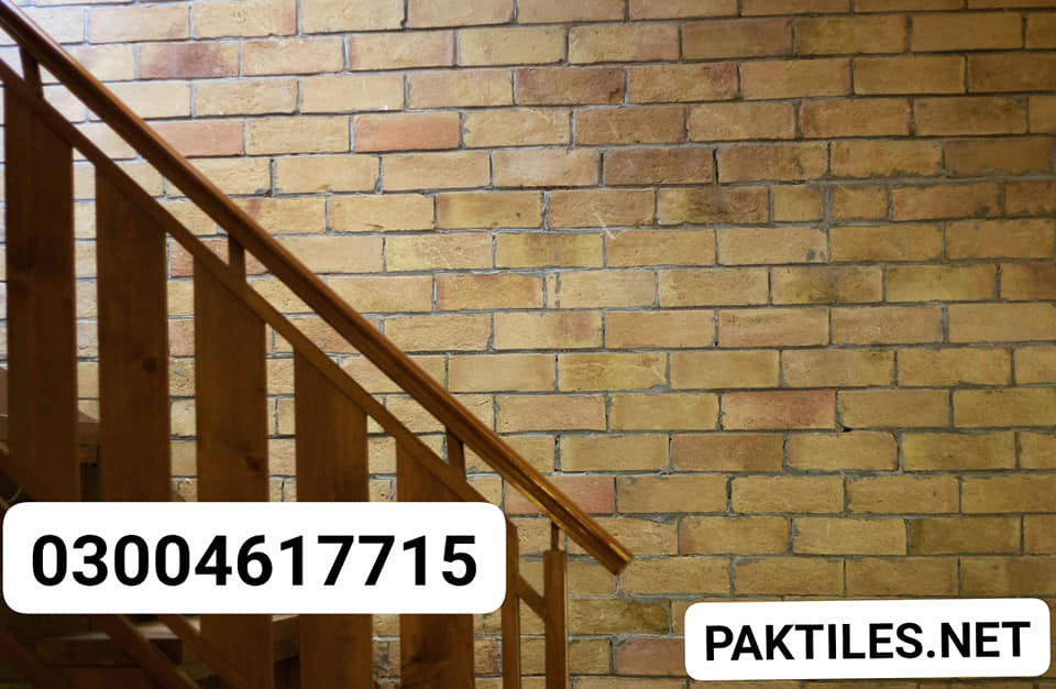 Clay Tiles Karachi Yellow Bricks Indoor Wall Tiles