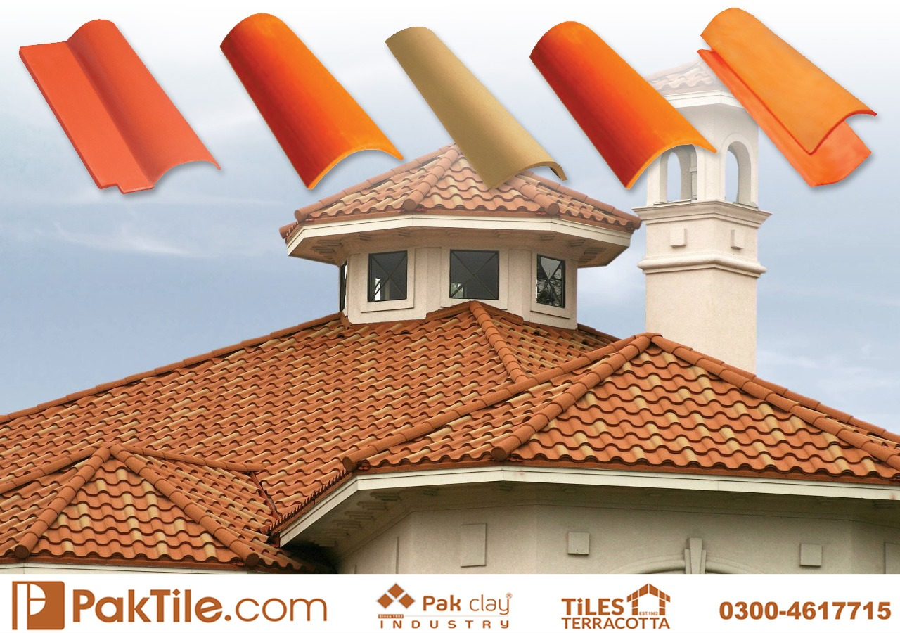 Clay Tiles Pakistan Heat Insulation Roof Tiles Natural Khaprai Tiles in Islamabad