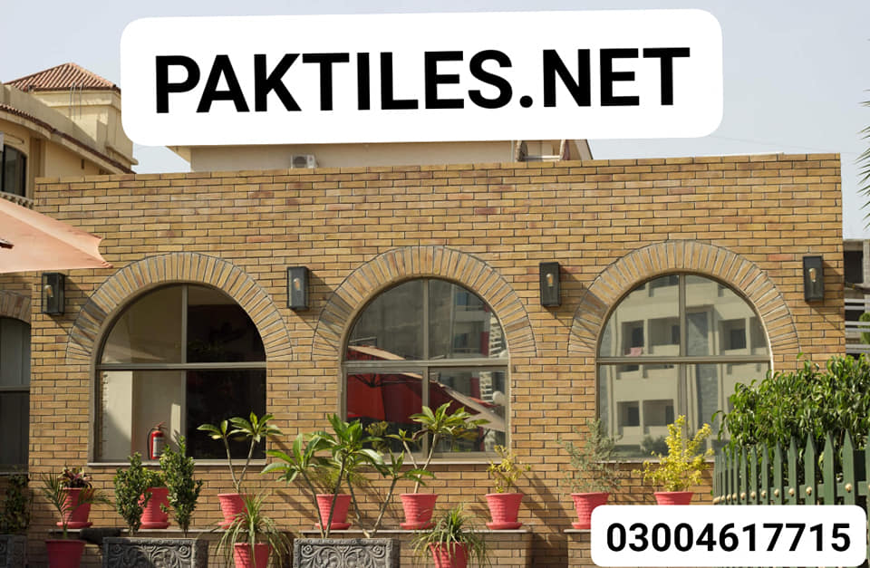 Exterior Wall Clay Tiles Karachi Yellow Gutka Tiles