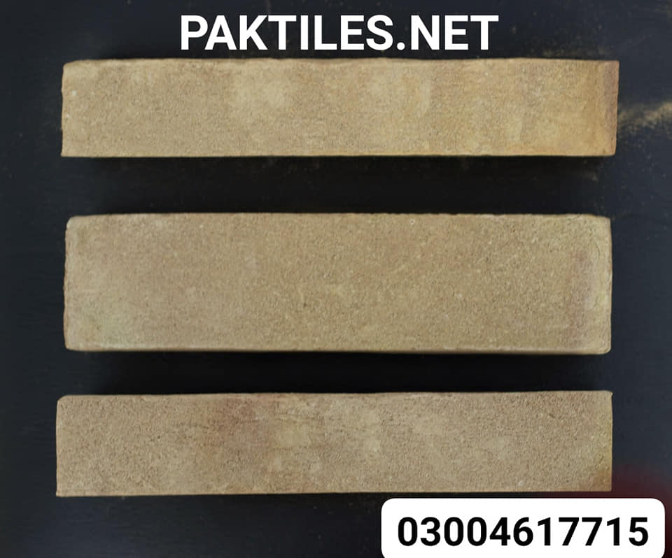 Pak Clay Tiles exterior yellow gutka size brick wall tiles in islamabad images