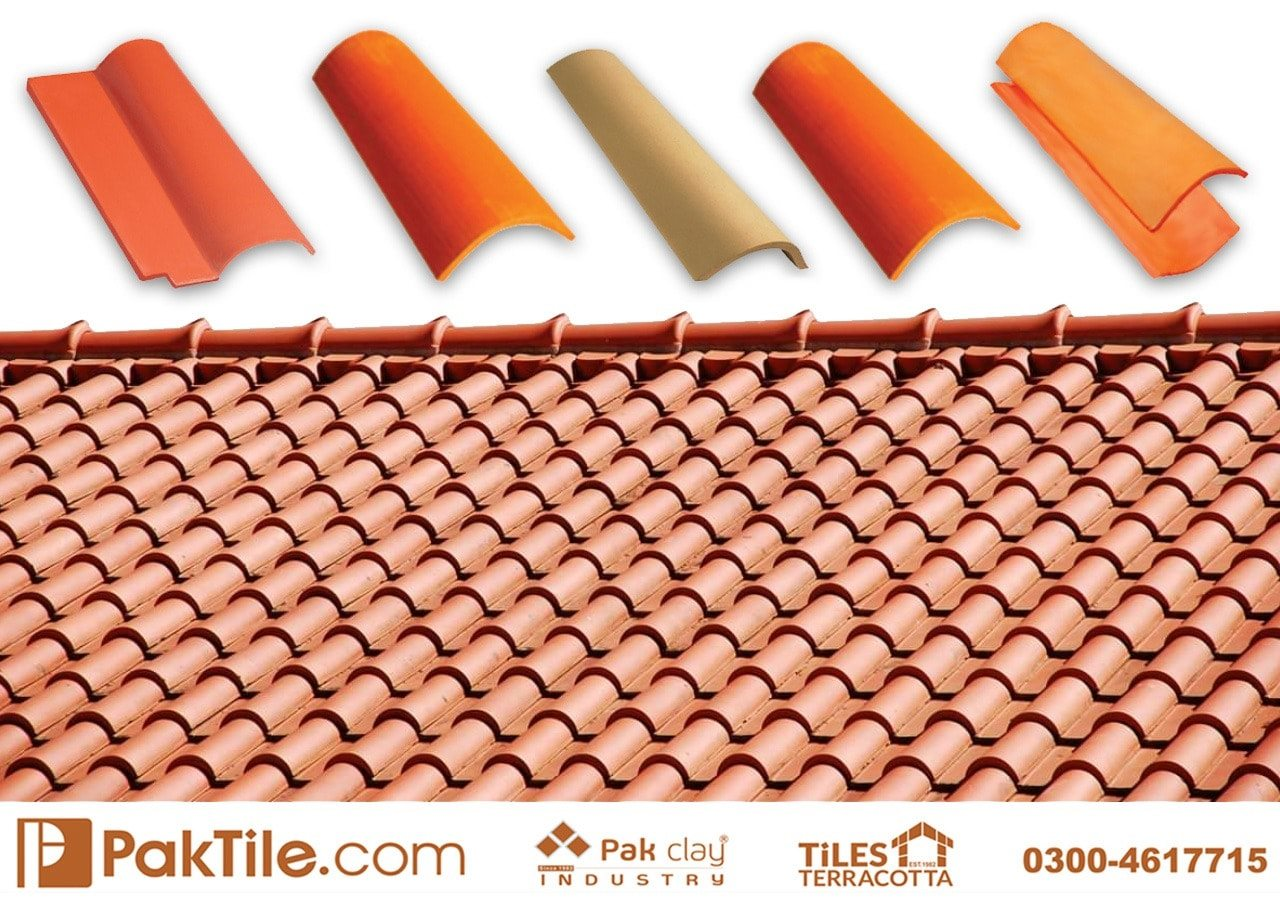 Terracotta Roof Tiles Natural Clay Khaprail Tiles