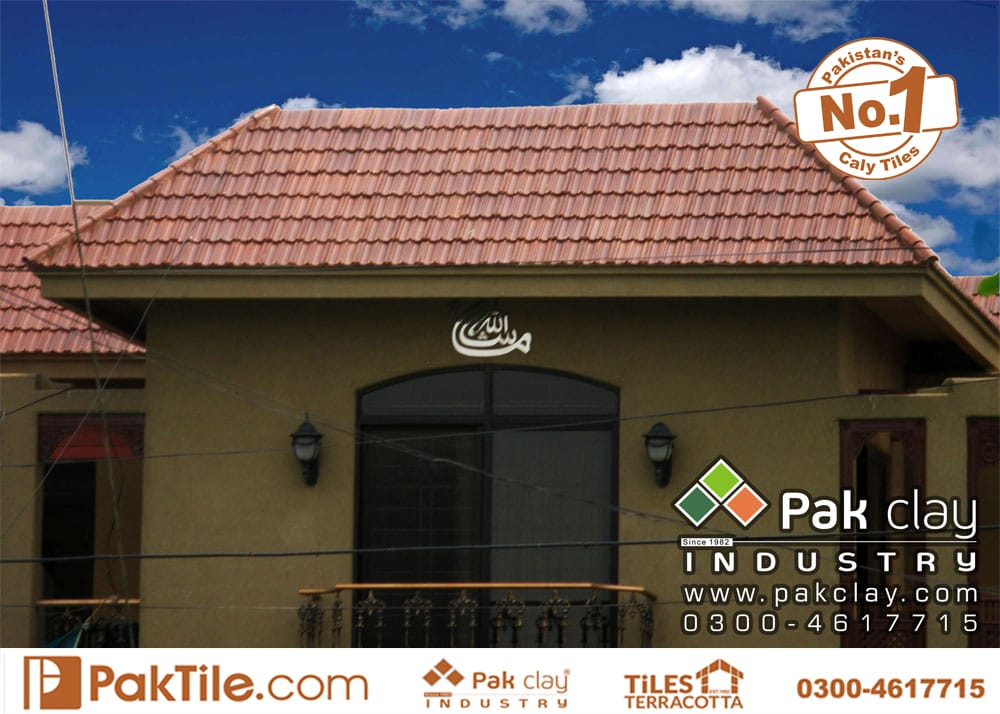 clay roof tiles types