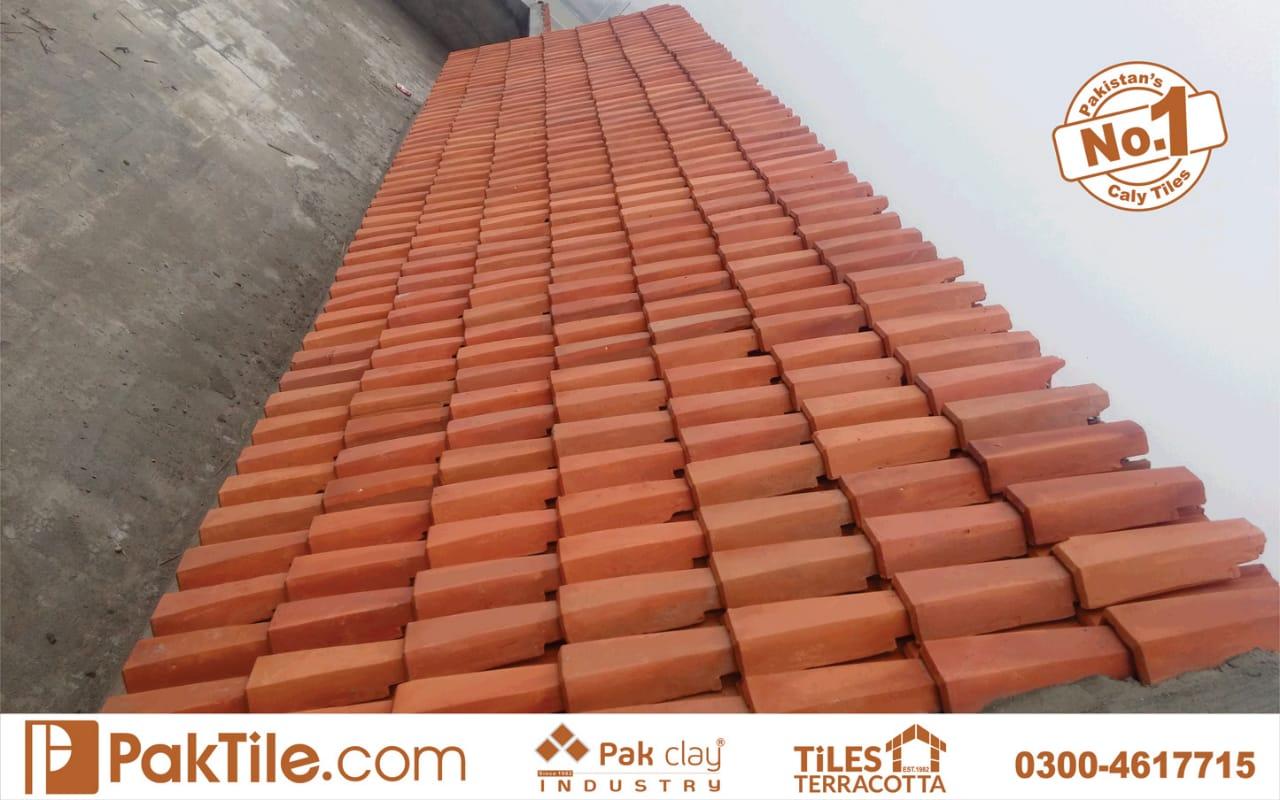 terracotta roof shingles