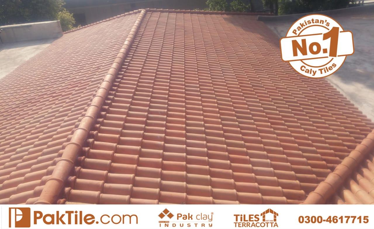 terracotta roofing tiles