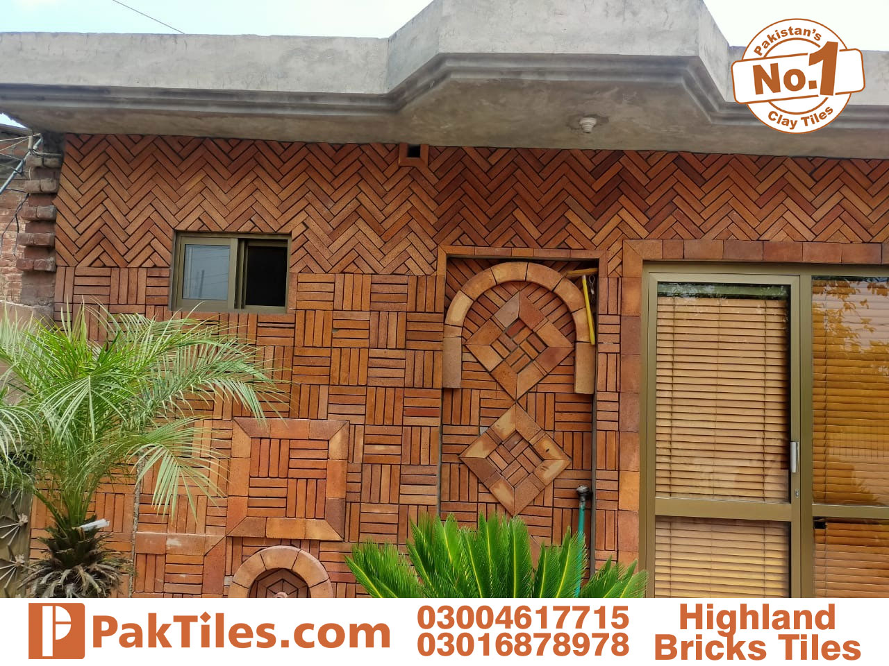 Lahori Yellow Gutka Bricks Font Wall Tiles
