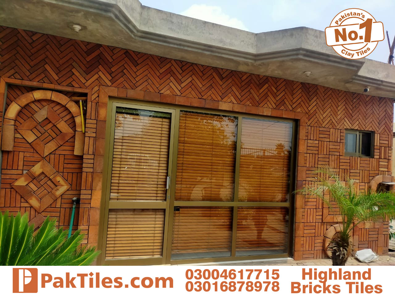 Yellow Lahori Gutka Bricks Tiles