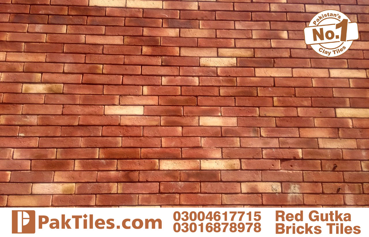 Home front red gutak tiles
