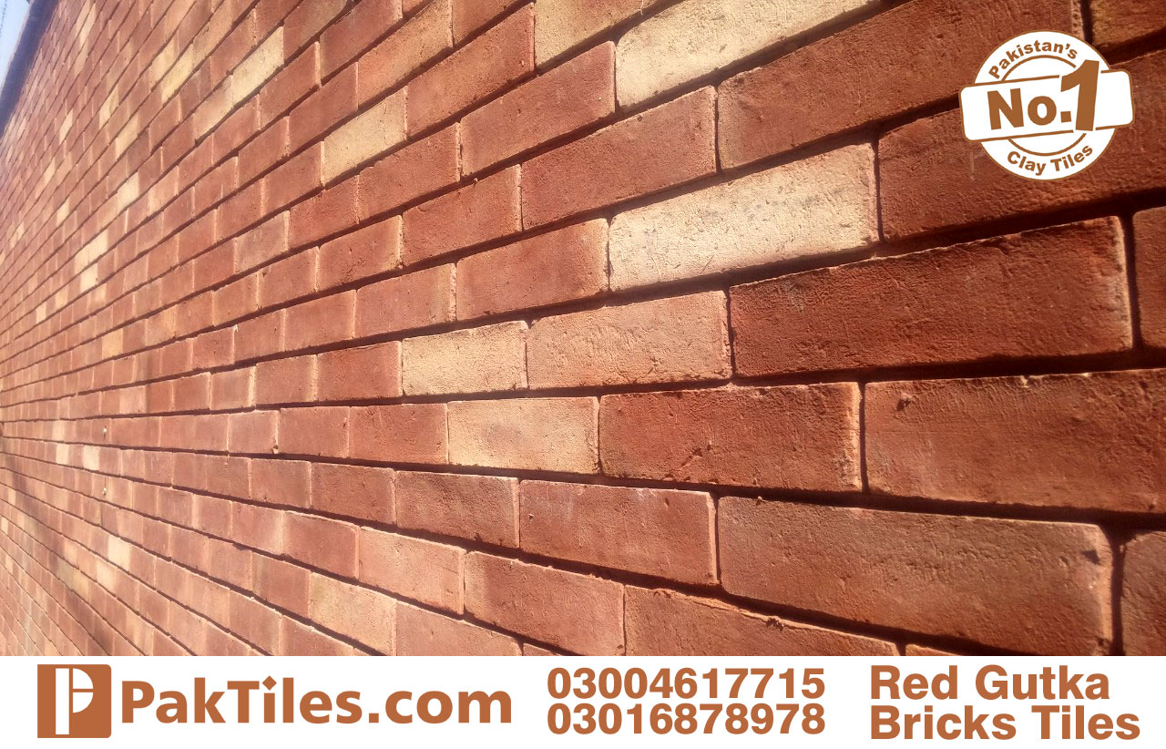 front face tiles red gutak