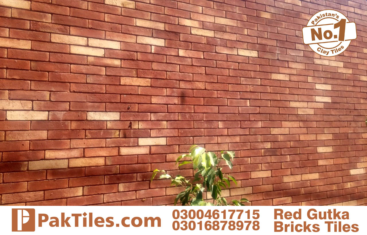 front facing tiles red brick