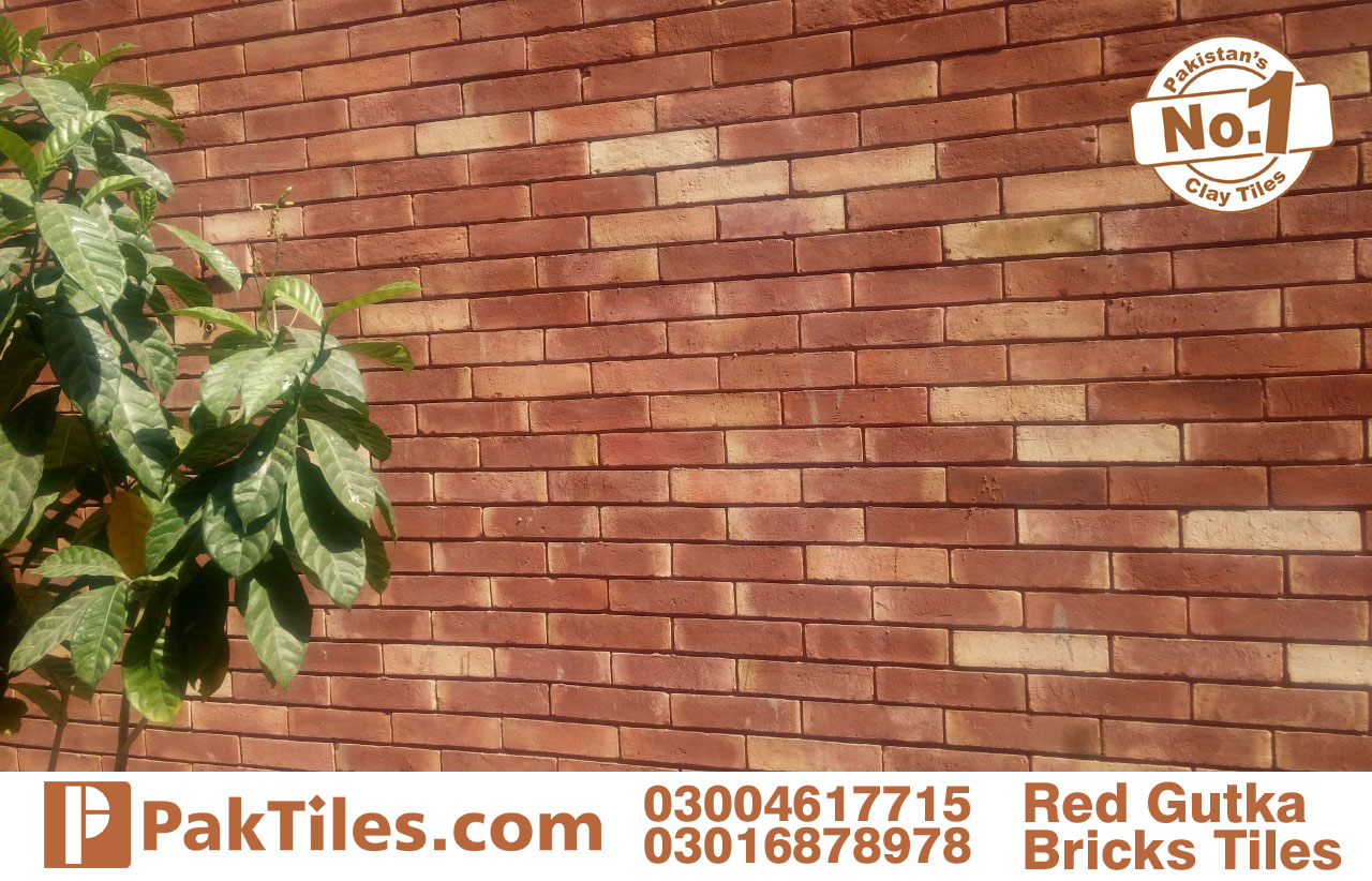 red face gutka brick tiles