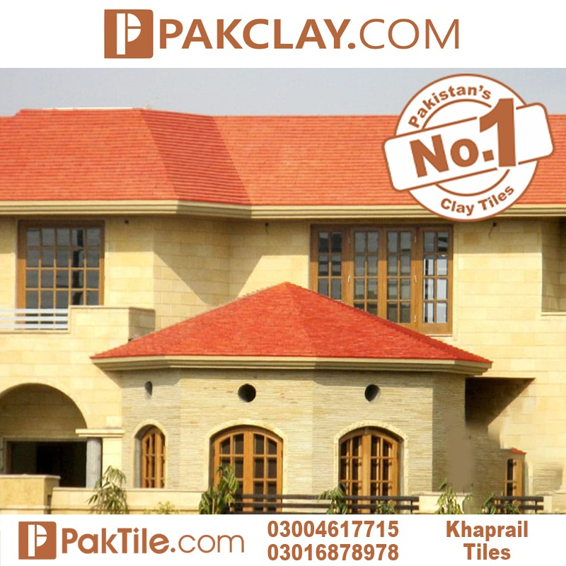 Natural Pak Clay Industry Islamabad Roof Tiles