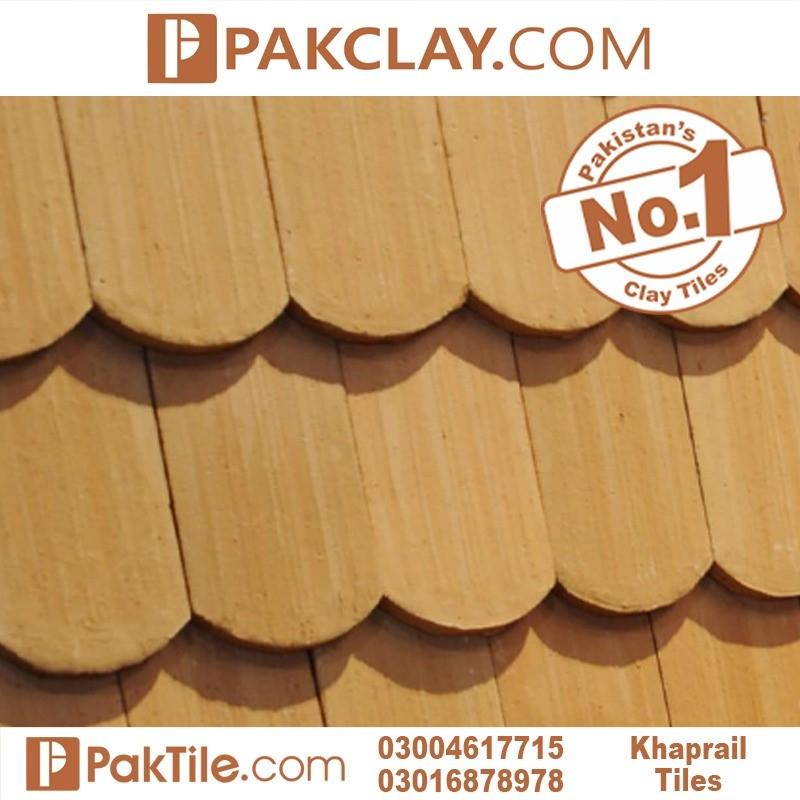 Natural clay khaprail tiles colours in Rawalpindi