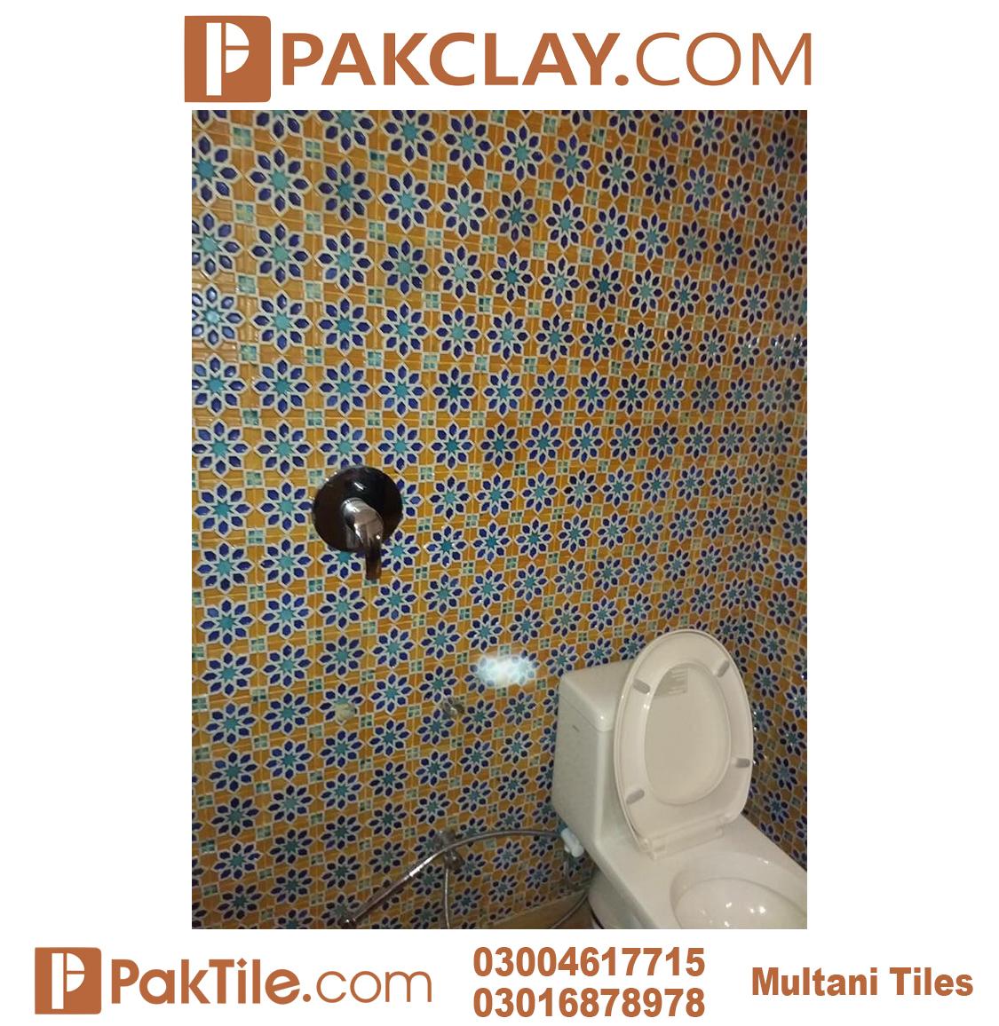 Pak Clay Bathroom Wall Multani Tiles and Naqashi